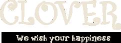 桂 カフェ CLOVER we wish your happiness