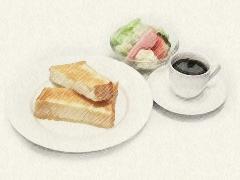トースト・サラダ